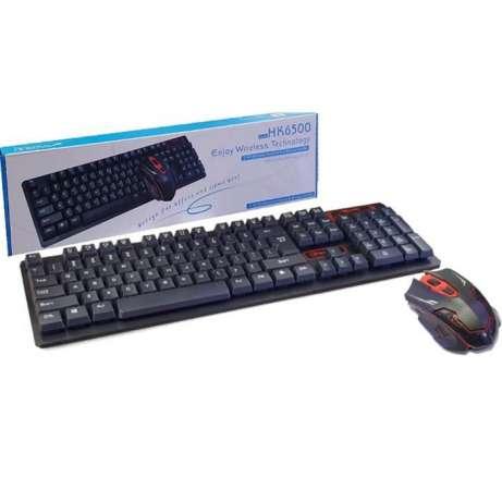 Combo phím chuột chuyên game không dây HK6500 giá sỉ và lẻ rẻ nhất